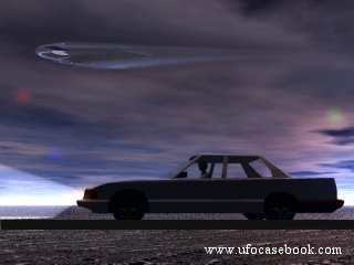 Car and UFO