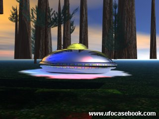 Depiction of Landed UFO