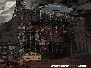 UFO over Chernobyl