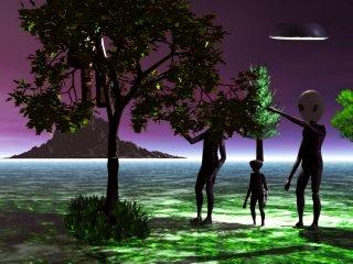 Depiction of Aliens></A> <div align=