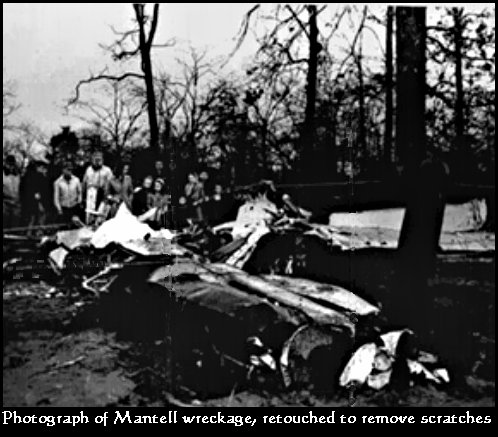 Plane Crash Debris