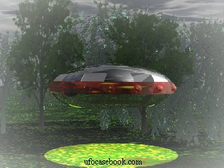 UFO Casebook depiction, Delphos Ring