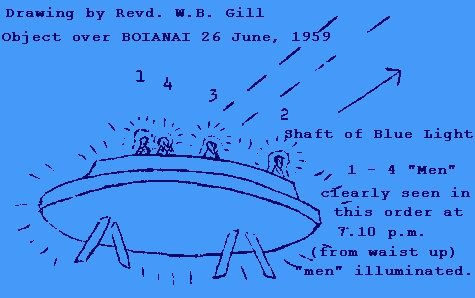 Gill Drawing of Sighting