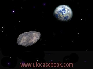 Depiction of Asteroid