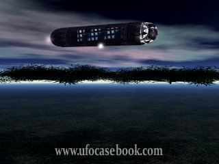 Cigar UFO Depiction