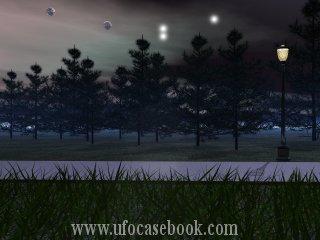 UFOs Hover