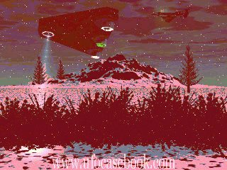UFO Red Rain