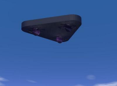 UFO over Plano, Texas