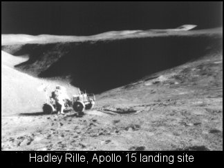 Former NASA Employee Saw UFOs during Apollo 15 Mission-UFO Casebook Files Hadleyrille