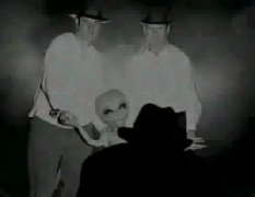 Depiction of alien