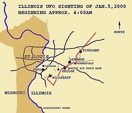 Path of UFO