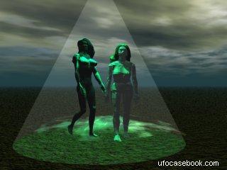 UFO Abduction Depiction