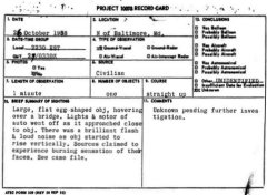 UFO Document