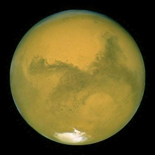 Mars/Hubble