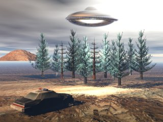 Depiction of UFO