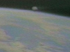 possible ufo photographed by NASA