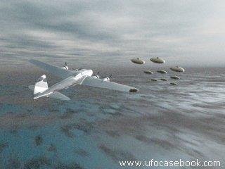 B-17 encounters UFO