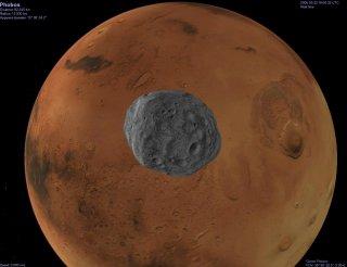 Probos, Moon of Mars
