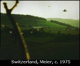 Billy Meier Photograph of UFO