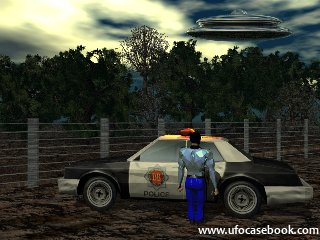 Police Chase UFO