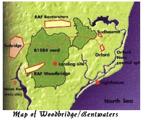 Rendlesham Map