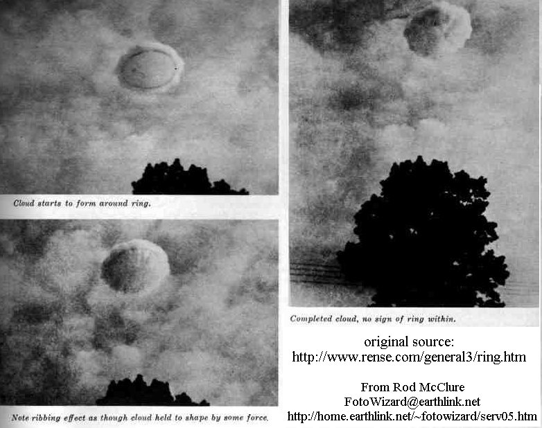 Ring/Cloud UFO
