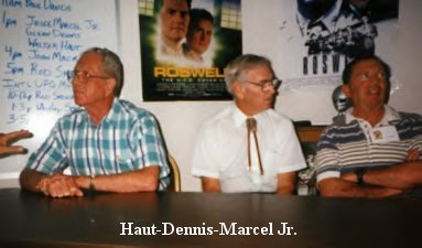 Haut, Dennis, and Marcel Jr.