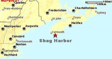 Shag Harbor Map