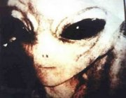 alleged alien being