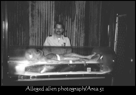 Alleged Alien Body