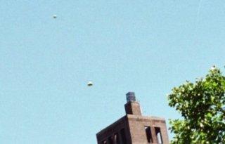 UFO over Manhattan