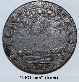 front of Coin, click for enlargement