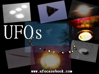 montage of ufos